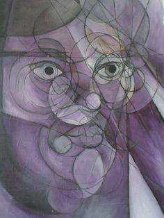 Ritratto: del 2001. mis. 35x50 Olio su cartone telato