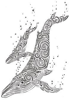 Animal Ink Series by DKNG Studios, via Behance