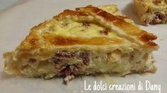 Crostata salata con ricotta speck e formaggi! Ricetta fantastica, sfiziosa e gustosissima!