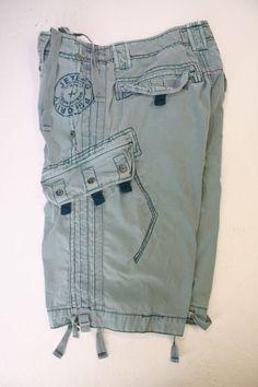 SOLD! Jetlag Priority N A7421 Limited Edition Cargo Shorts (Men's 34) Zipper 2483 #JetLag #Cargo