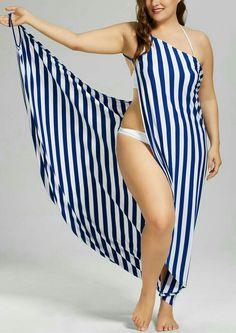 Moda Plus-size - Saida-de-praia
