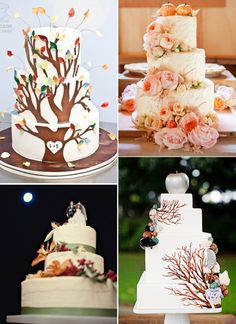 Autumn Wedding Cake Inspiration