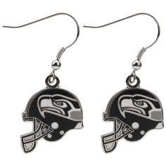 Seattle Seahawks Helmet Wire Earrings - NFL #WinCraft #SeattleSeahawks