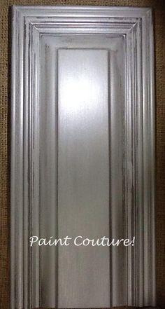 Best Valspar Aspen Grey And Black Glaze Painting Cabinets 400 x 300