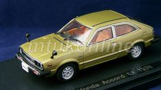 EBBRO 2007 | HONDA ACCORD EX 1976 | 1/43 | OLDIES LIMITED | PAINT DEFECT