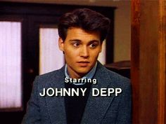Johnny Depp back in his 21 Jump Street Days Johnny Depp Joven, Johny Depp, Tom Welling, Jack Sparrow, Junger Johnny Depp, Young Johnny Depp, 21 Jump Street, Bae, Showgirls