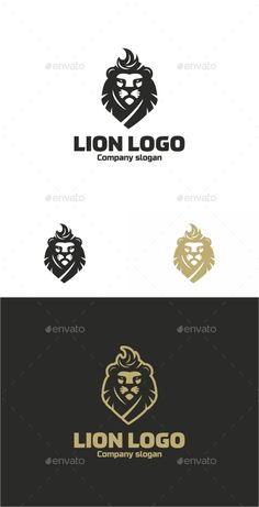 Lion Logo Template #design #logotype Download: http://graphicriver.net/item/lion-logo/12530183?ref=ksioks