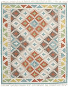 This carpet is woven mainly in Dhurrie in India, but also in other places in the country. It is an Indian kelim weaving made of wool. Shag Carpet, Beige Carpet, Modern Carpet, Carpet Stairs, Carpet Cleaners, Tom Tailor, How To Clean Carpet, Carpet Runner, Rug Making