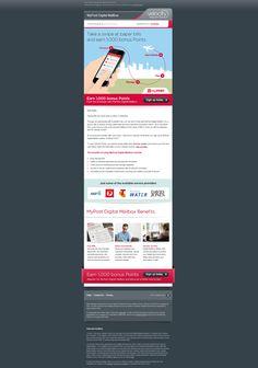 Velocity Frequent Flyer Email Design - Bonus Points