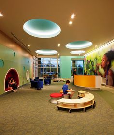 Lobbies for children hospitals the children 39 s hospital - Interior design jobs philadelphia ...