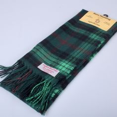 Woven in Scotland from pure new wool - Order your's today from ScotClans
