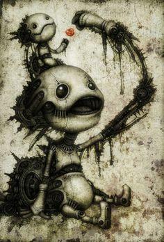 http://ego-alterego.com/2011/07/mechanised-creatures-by-shingo-matsunuma