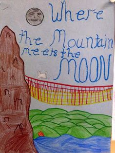 Another great visit I don't want to forget was in Houston, TX, where two schools chose W here the Mountain Meets the Moon as their One Boo. Moon Activities, Animal Classification, Moon Book, 3rd Grade Reading, Book Study, Inspire Others, Read Aloud, Tween, Classroom Ideas