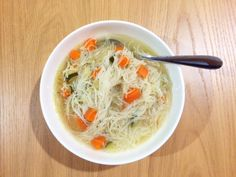 Slow Cooker Chicken, vegetable and noodle soup