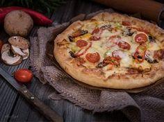 Η τελειότερη πίτσα όλων των εποχών... Cookbook Recipes, Pizza Recipes, Cooking Recipes, Healthy Recipes, Food Network Recipes, Food Processor Recipes, The Kitchen Food Network, The Joy Of Baking, Greek Recipes