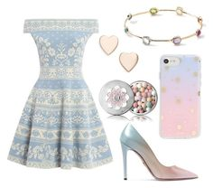 """Pastel Party"" by yulia-gg on Polyvore featuring moda, Alexander McQueen, Prada, Sonix, Guerlain, Poppy Finch y Ippolita"