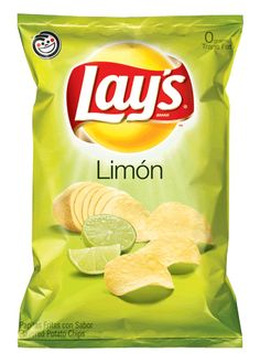 Lay's Limon Flavored Potato Chips Bags (Pack of Frito Lays Potato Chips Flavor: Limon/Lime Pack of 3 8 oz each Lays Potato Chip Flavors, Lays Potato Chips, Lays Flavors, Dorm Food, Junk Food, Crisps Brands, Yummy Snacks, Snack Recipes, Gastronomia
