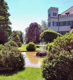 Possenhofen Schlosspark - Bayern, Bavaria, Germany