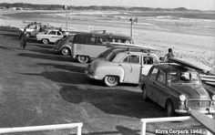 Kirra Beach carpark QLD in 1962...