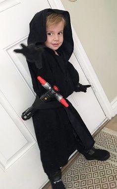 Kilo Ren Costume! He is using the force!