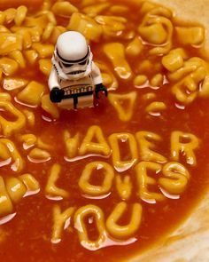 """Vader loves you"" y otras simpáticas fotos Lego Star Wars"