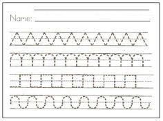 Practice Tracing the Letter A | Worksheets, Kindergarten letter ...