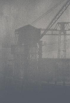 Along the Thames with JohnClaridge, Creeping Fog, E16, 1964