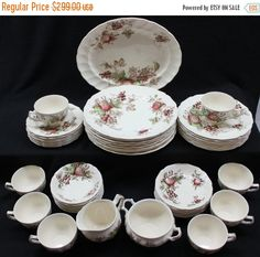 Silhouette Fine China By Syracuse, Sonata Pattern, Made In USA ...