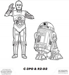 Star Wars para imprimir y dibujar
