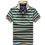 Summer casual men polo shirt
