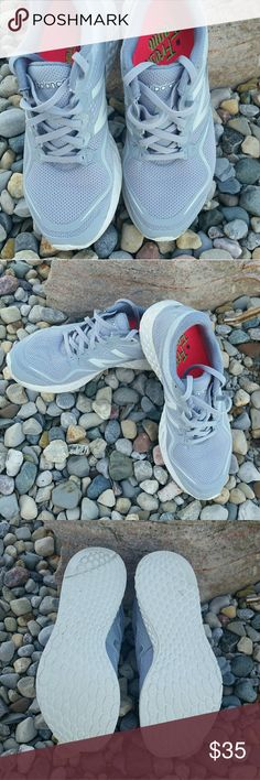 New Balance Fresh Foam Zante sneakers Light grey sneakers only worn inside. Gently worn and in nice shape. New Balance Shoes Athletic Shoes