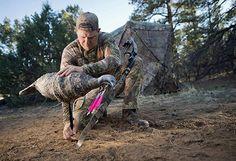 Montana Turkey Decoy