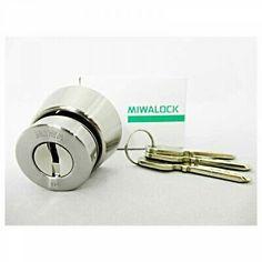 Advertisement - MIWA Door Lock Security Reversible Pin Cylinder LA.CY Replacement Japan Tracking Hotel Lock, White Clocks, Pink Body, Impact Driver, Door Locks, Makita, Easy To Use, Japan, Ebay