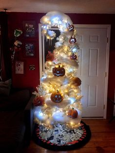 BROTHERTEDD.COM - So excited that we got to build our Haunted... Two Trees, Take Apart, Haunted Mansion, Halloween Town, Nightmare Before Christmas, Christmas Tree, My Favorite Things, Holiday Decor, Inspiration
