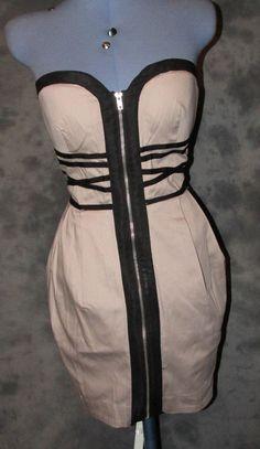 New Look,ladies,size 12,beige,bandeau,sleeveless,no pattern,Formal,short,dress.