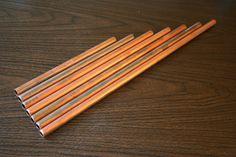 make copper wind chimes
