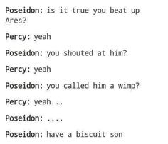 HARRY POTTER REFERENCE IN A PERCY JACKSON THING. THIS COULDNT BE ANY BETTER