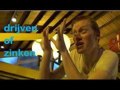 Kleuters - Leren met meneer Frans: Drijven/Zinken - YouTube