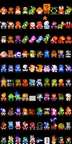 Super Mario Maker Authentic Costumes by DragonDePlatino on DeviantArt Super Mario Art, Super Mario World, Authentic Costumes, Ps Wallpaper, Minecraft Banner Designs, Nintendo Super Smash Bros, 8 Bits, Pixel Art Games, Retro Videos