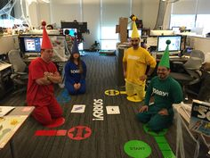 30 Halloween Office Costume Ideas which are totally appropriate for Work 30 Halloween Office Costume Ideas which are totally appropriate for WorkWhen October Kicks in there is everywhere. From malls to restaurant # Cute Group Halloween Costumes, Game Costumes, Diy Costumes, Costume Ideas, Party Costumes, Funny Costumes, Group Costumes, Halloween Office, Halloween Kostüm