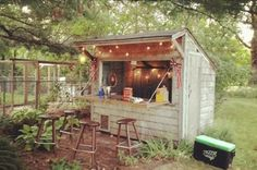 Check out these unique bar sheds and prepare to be inspired to transform your own basic shed into a mini-backyard pub that's sure to impress.