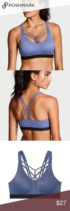 Victoria's Secret Lightweight Sports Bra This is a brand new, in package, with tags, Lightweight strappy Sports Bra from Victoria's Secret. Details in photo. Victoria's Secret Intimates & Sleepwear Bras