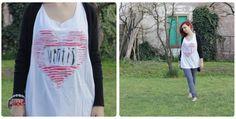 DIY - come personalizzare una semplice maglietta bianca