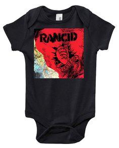 Rancid Let's Go punk TShirt or onesie by LightandSweet on Etsy, $18.00