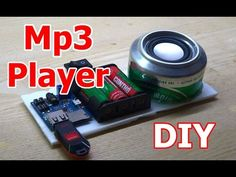How to make Mp3 Player at home DIY Mp3 Player - YouTube