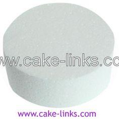 """4"""" Round Cake Dummy (Plain Edged)"""