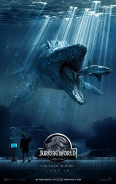 Jurassic World Movie Poster Puzzle Fun-Size 120 pcs