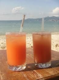 Rum drinks are plentiful, anytime is a good time.  St. John, Virgin Island