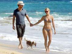 Ryan Seacrest & Julianne Hough Hit the Beach in Cabo