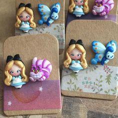 "I Capricci Di Colombina on Instagram: ""Stasera su etsy alle 21.00 🎀 solo fanart a tema Disney ^.^ (9.00 pm in Italy 😋) #icapriccidicolombina #fimo #polymerclay #handmade #kawaii…"" Polymer Clay Figures, Cute Polymer Clay, Polymer Clay Dolls, Cute Clay, Polymer Clay Miniatures, Polymer Clay Charms, Polymer Clay Creations, Handmade Polymer Clay, Polymer Clay Earrings"